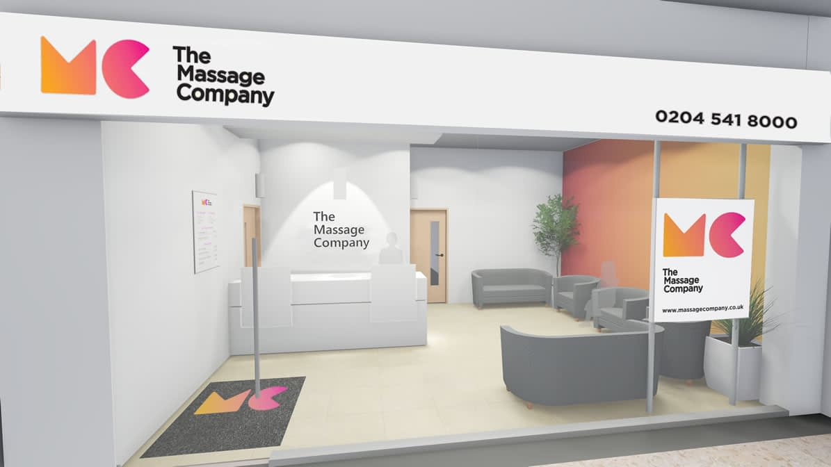 The Massage Company Store Front